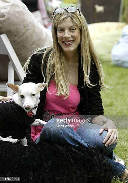 """Tori Spelling during 'Silver Spoon Dog and Baby Buffet"""" Benefitting Much Love Animal Rescue Day One at Private Residence in Beverly Hills California..."""
