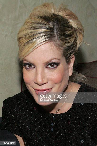 Tori Spelling during Silver Spoon Holiday Party at Dolce December 18 2006 at Dolce in West Hollywood California United States