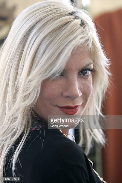 Tori Spelling during Silver Spoon Pre-Emmy Hollywood Buffet - Day 2 in Los Angeles, California, United States.