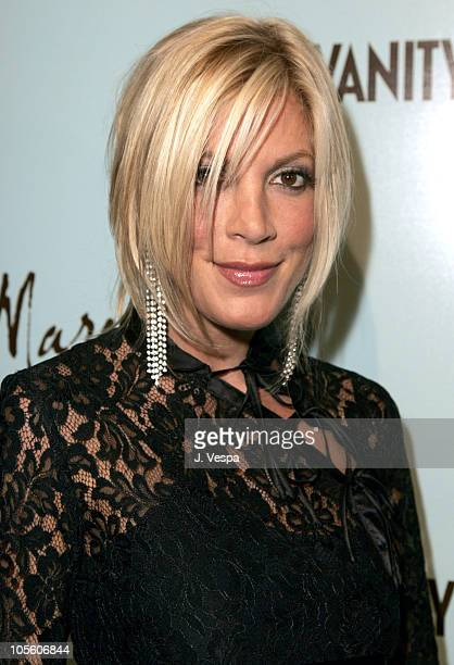 Tori Spelling during The Launch of Marciano Hosted by Vanity Fair at Dolce in Los Angeles California United States