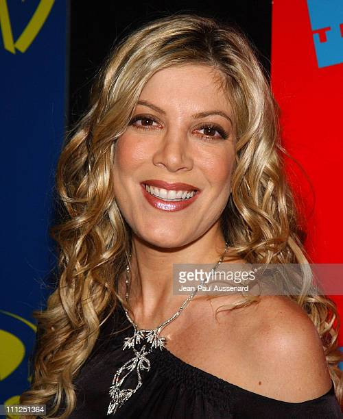 Tori Spelling during The WB Network's 2004 All Star Party at Hollywood Highland in Hollywood California United States