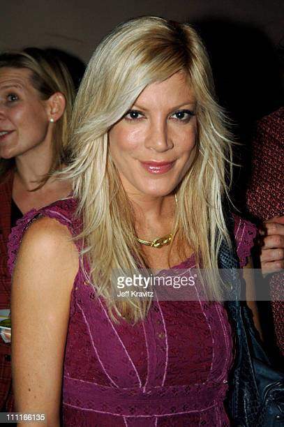 Tori Spelling *Exclusive Coverage* during LIFEbeat Fall Fundraiser Honoring Brian Graden at Geisha House in Hollywood California United States