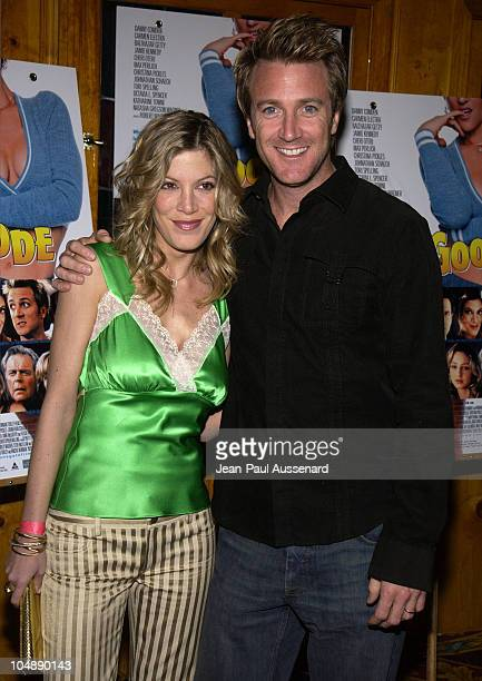Tori Spelling writer / director Danny Comden during 'Sol Goode' DVD Release Party at Club 1650 in Hollywood California United States