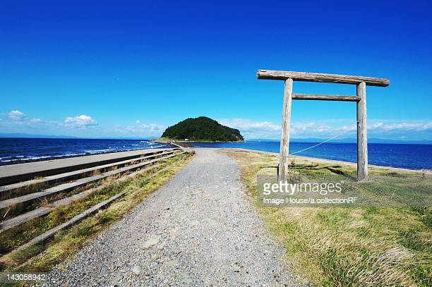 Torii Gate and Island
