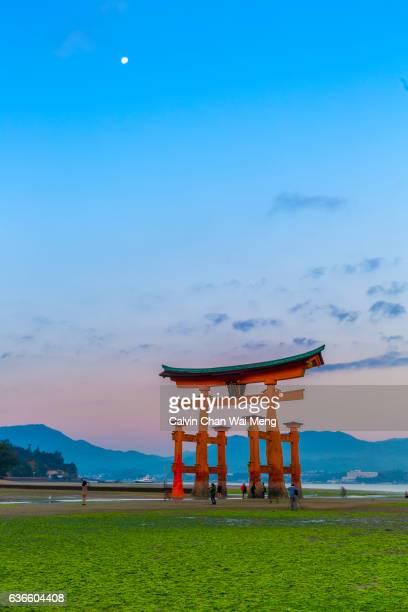 Torii gate of Itsukushima (Miyajima) Japan