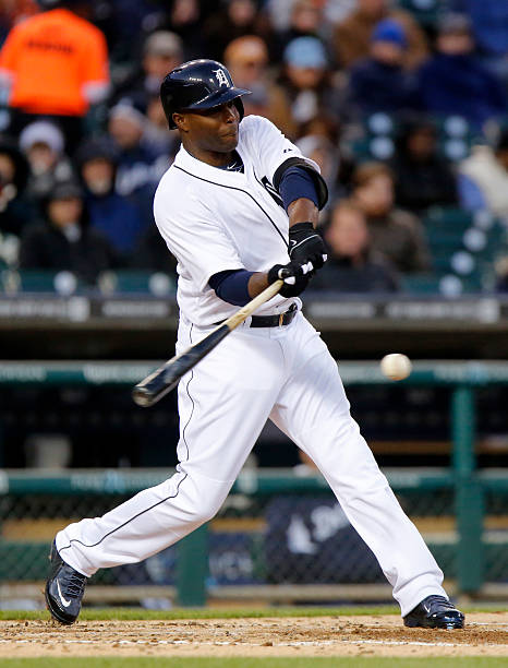 Torii Hunter of the Detroit Tigers