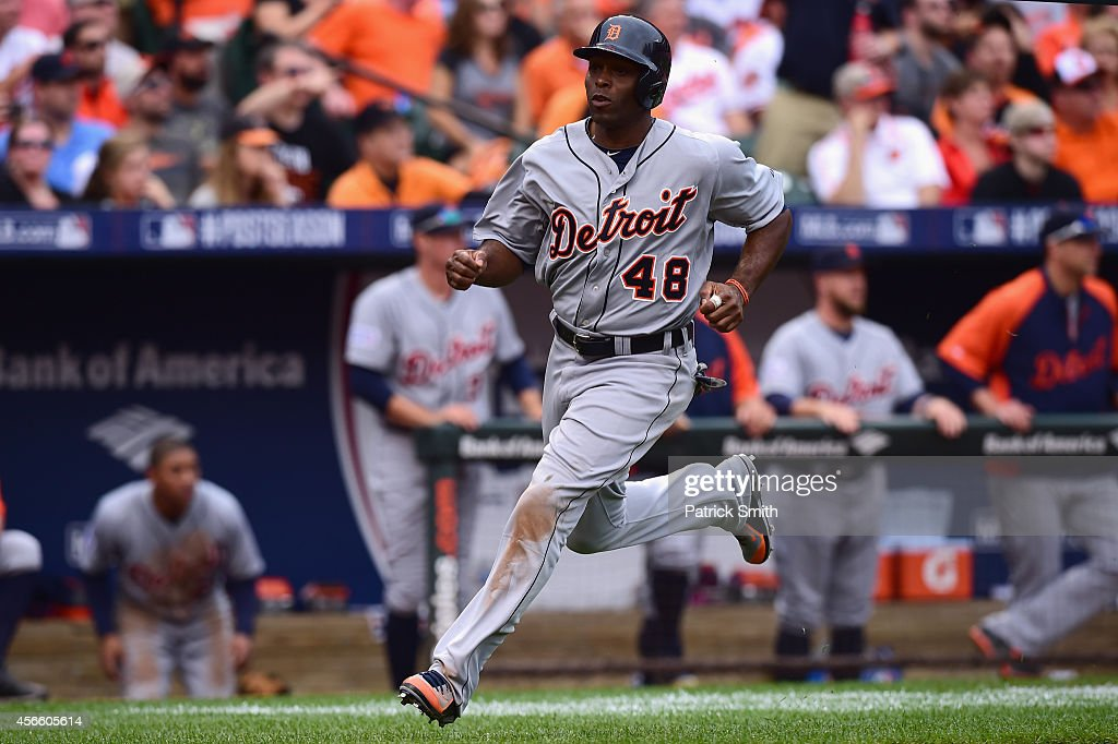 Division Series - Detroit Tigers v Baltimore Orioles - Game Two : News Photo