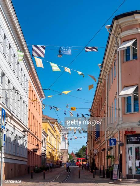 Torikorttelit - the Old Town in Helsinki, Finland