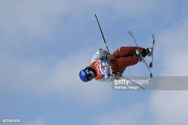 Torin YaterWallace of the United States competes during the Freestyle Skiing Men's Ski Halfpipe Final on day thirteen of the PyeongChang 2018 Winter...