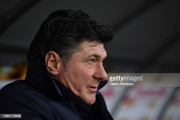 Torino FC head coach Walter Mazzari looks on during the Serie A match between Torino FC and FC Internazionale at Stadio Olimpico di Torino on January...