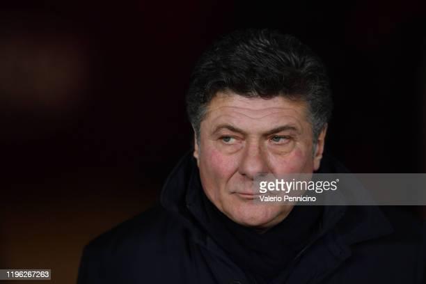 Torino FC head coach Walter Mazzari looks on during the Serie A match between Torino FC and Atalanta BC at Stadio Olimpico di Torino on January 25,...