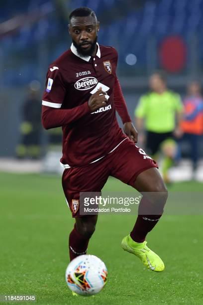 Torino football player Nicolas Nkoulou during the match Lazio-Torino in the Olimpic stadium. Rome , October 30th, 2019