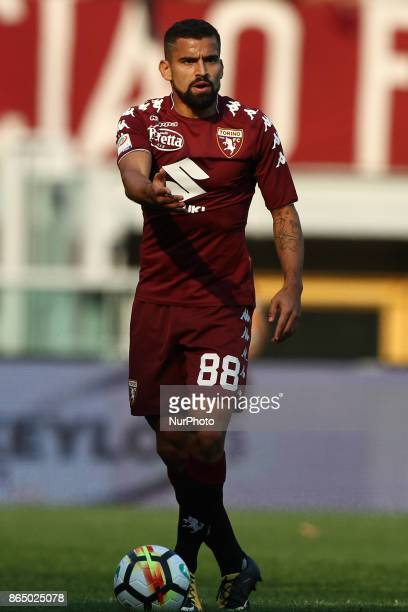 Torino midfielder Tomas Rincon in action during the Serie A football match n9 TORINO ROMA on at the Stadio Olimpico Grande Torino in Turin Italy
