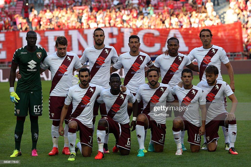 Benfica v Torino - Eusebio Cup : News Photo