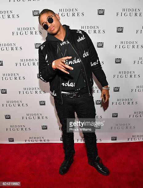 Torion Sellers attends the Hidden Figures Soundtrack Listening Party on November 16 2016 in Atlanta Georgia