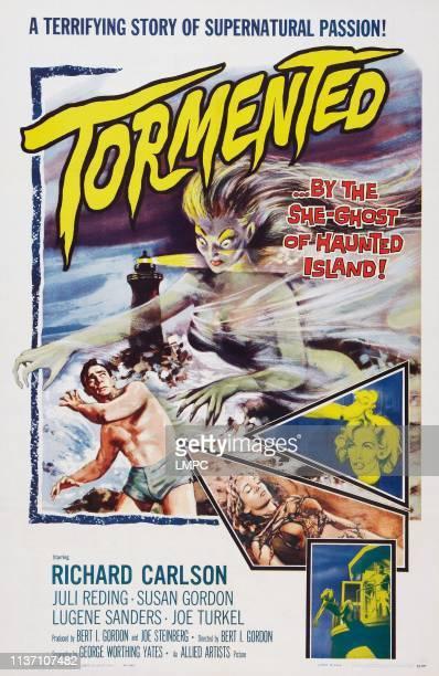 Tormented poster US poster art Richard Carlson Juli Reding 1960