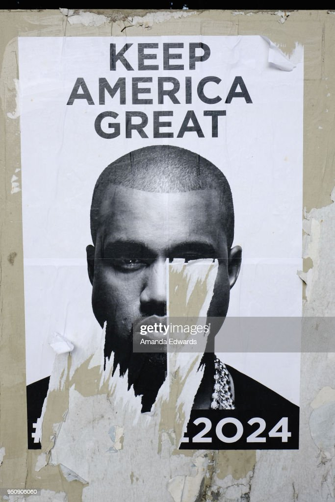 #Kanye2024 Keep America Great Posters Seen Posted Around Los Angeles