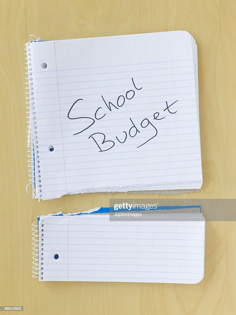 Torn notebook : Stock Photo