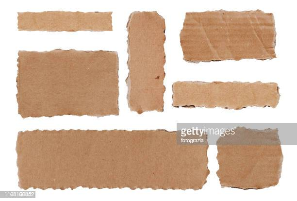 torn paper collection - old parchment background burnt stock photos and pictures