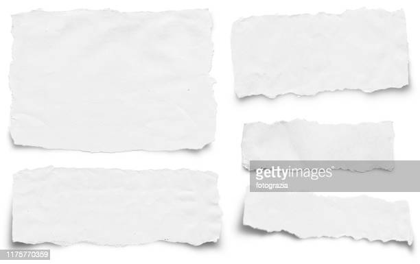 torn paper collection - part of stock pictures, royalty-free photos & images