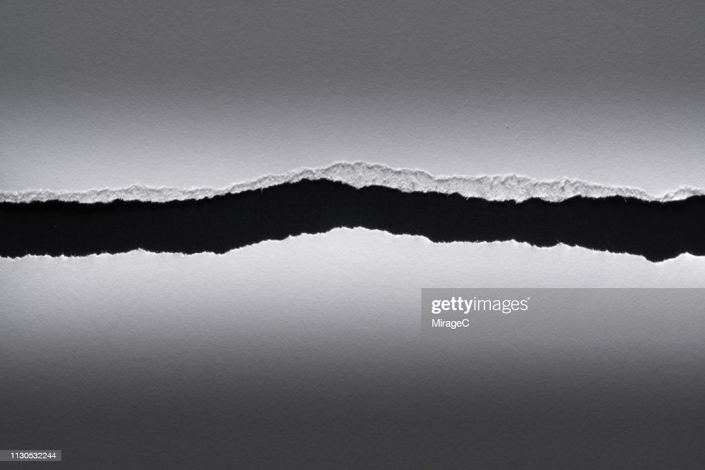 Torn Paper Edge : Stock Photo