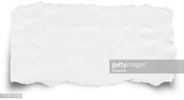 torn paper - abgerissen stock-fotos und bilder