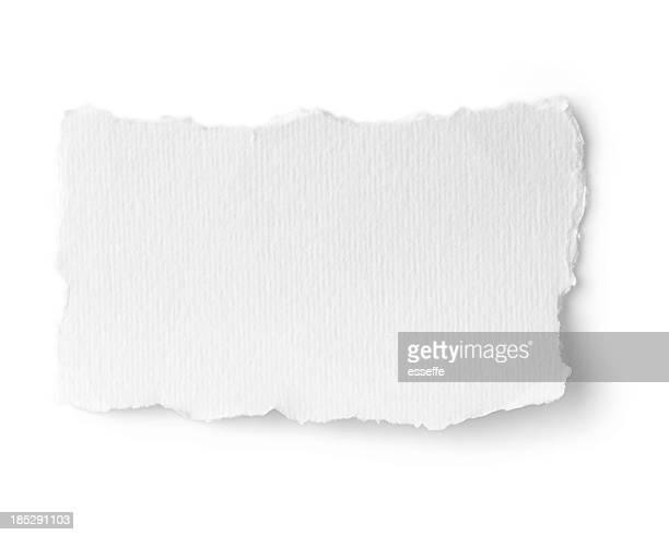 Zerrissen Papier