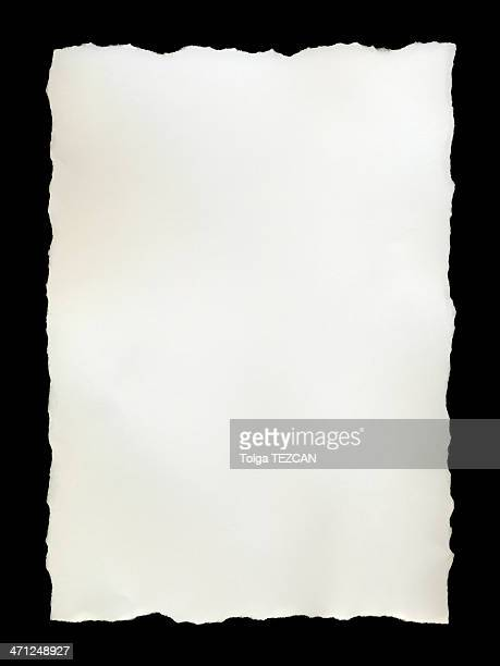 torn piece - at the edge of stock photos and pictures