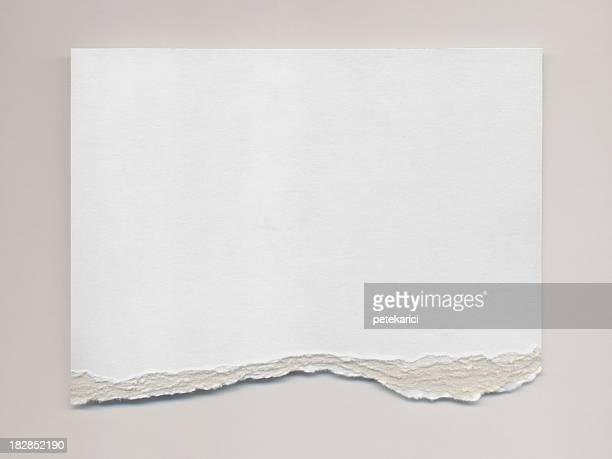 Déchiré papier Aquarelle