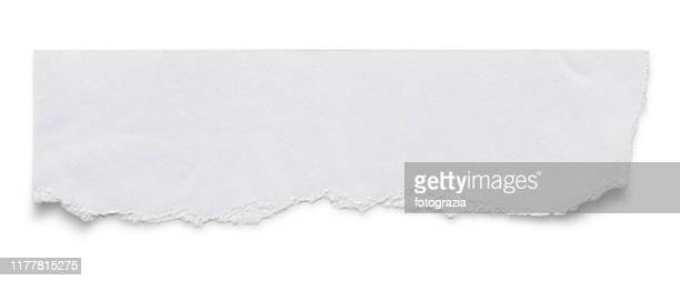 torn white paper - category:pages stock pictures, royalty-free photos & images