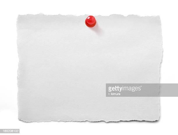 Papier Zerrissen white