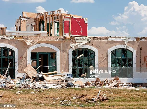 Tornado Damaged Buildings