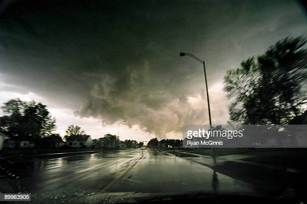 tornado in holdrege - ryan mcginnis stock photos and pictures