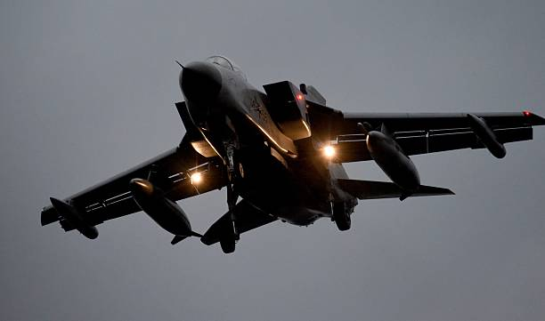 A Tornado Reconnaissance Jet Of The German Army Tactical Air Force Squadron 51 Immelmann