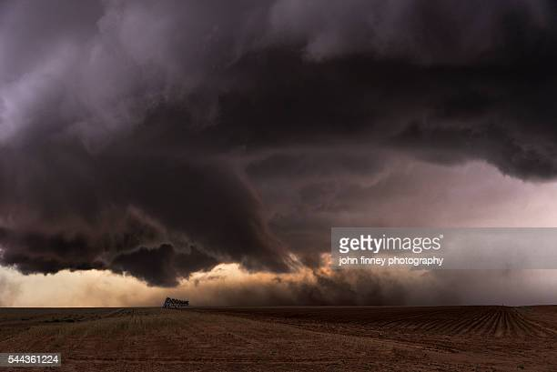 Tornado touches down in the Texas panhandle. Texas, USA