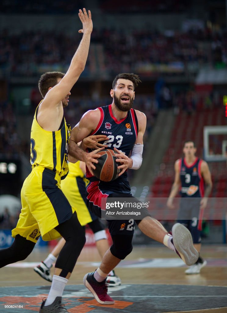 Kirolbet Baskonia Vitoria Gasteiz v Fenerbahce Dogus Istanbul - Turkish Airlines Euroleague Play off Game Three