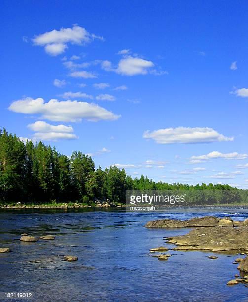 Tornio-Fluss