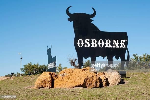 toro osborne - bullock imagens e fotografias de stock