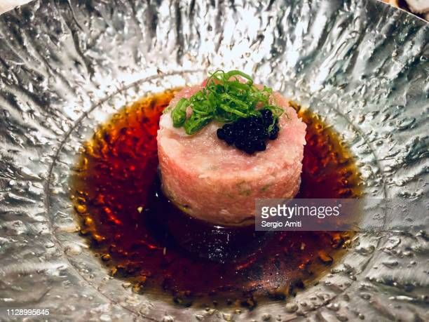Toro (fatty tuna) tartare