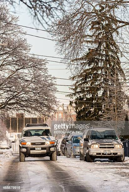 Toronto after the Ice storm
