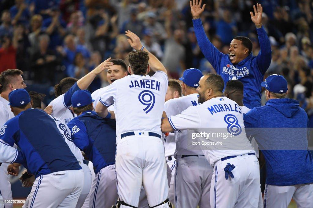 MLB: SEP 20 Rays at Blue Jays : News Photo