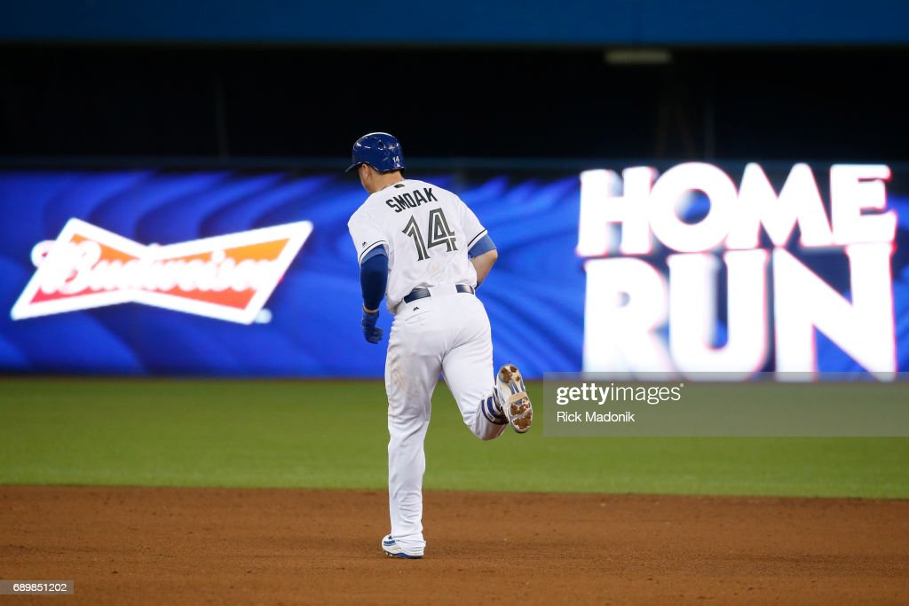 Toronto Blue Jays Vs Tampa Bay Rays : News Photo