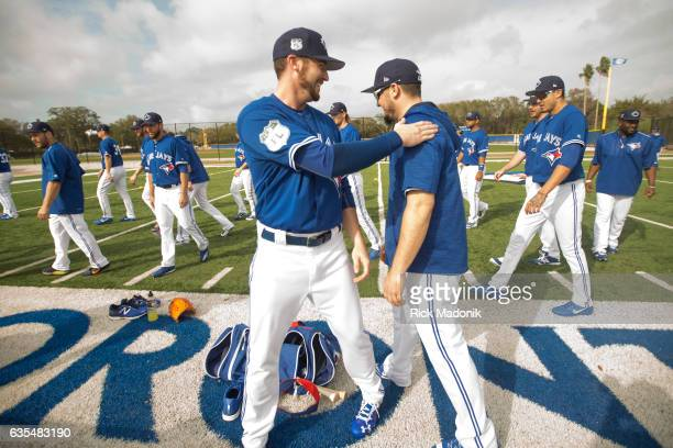 Toronto Blue Jays first day of formal workouts at Bobby Mattick Training Centre as the Jays open Spring Training camp Toronto Star/Rick Madonik