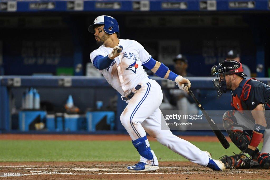 MLB: JUN 19 Braves at Blue Jays : News Photo