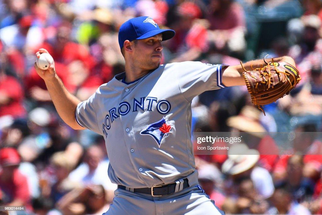 MLB: JUN 24 Blue Jays at Angels : News Photo