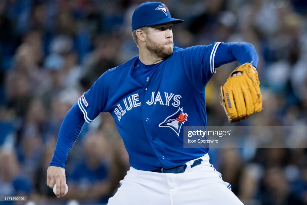 MLB: SEP 27 Rays at Blue Jays : ニュース写真