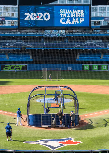 CAN: Toronto Blue Jays Summer Workouts