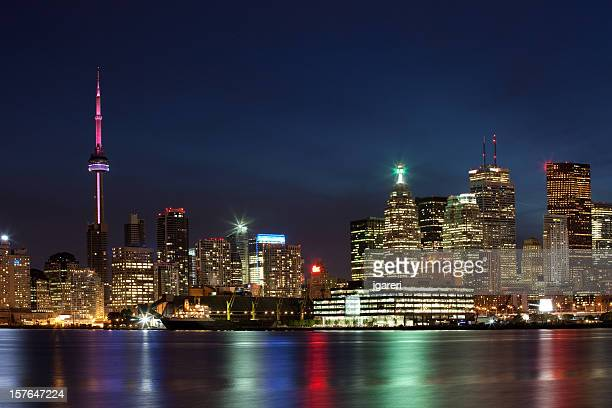 toronto, canada - cityscape - toronto stock pictures, royalty-free photos & images