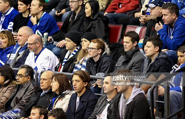 Toronto Canada December 6 In first period action It's a quiet crowd surrounding Star reporter Eric AndrewGee The Toronto Maple Leafs took on the...