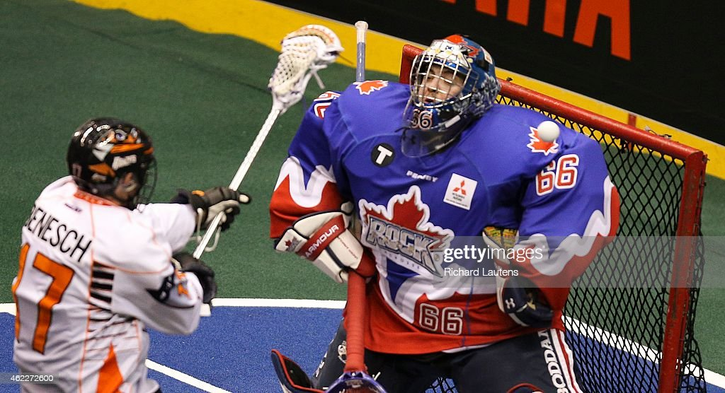 Toronto Rock take on the Buffalo bandits in NLL action : News Photo